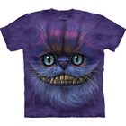 The Mountain Big Face Cheshire Cat Fantasy T Shirt