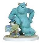 Disney Precious Moments Mike Sulley and Boo (Lean On Me)