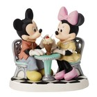 Disney Precious Moments Mickey & Minnie (Life Is So Sweet With You)