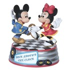 Disney Precious Moments Mickey & Minnie (Rock Around The Clock Musical)