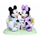 Disney Precious Moments Mickey & Minnie (Always Be By My Side)