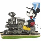 Disney Precious Moments Mickey Mouse Riding Train