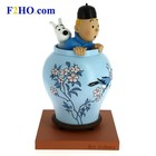 Tintin (Kuifje) Tintin & Snowy in the Chinese Vase