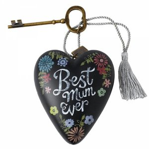 Art Hearts Best Mum Art Heart
