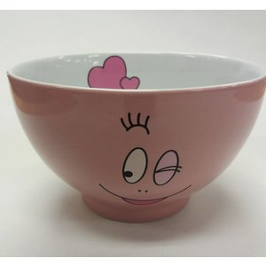 Barbapapa Bowl Barbapapa  Hearts (Glossy Pink)