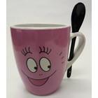 Barbapapa Mug Barbapapa with Spoon
