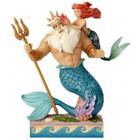 Disney Traditions Ariel & King Triton