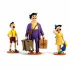Tintin (Kuifje) Serafijn Lampion met kinderen