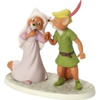 Disney Precious Moments Robin Hood and Maid Marian