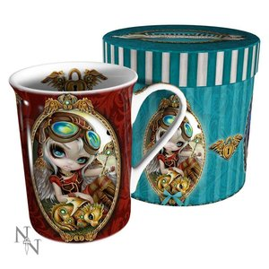 Jasmine Becket-Griffith Clockwork Dragonling Mug