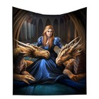 Anne Stokes Fierce Loyalty Throw (140 x 160cm)