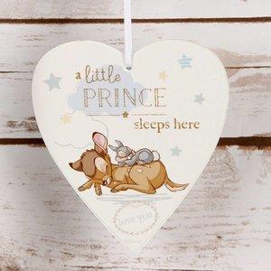 Disney Magical Moments  Beginnings Heart Plaque 'Little Prince'