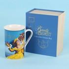 Disney Magical Moments Mug Gift Set - Beauty & The Beast Book (Balcony)