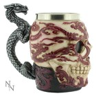 Anne Stokes Eastern Dragon Skull Tankard