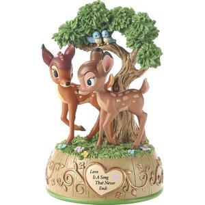 Disney Precious Moments Bambi and Faline (Musical)