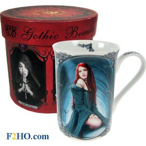 Anne Stokes Await The Night Mug