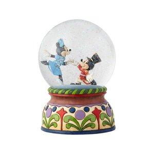 Disney Traditions Mickey & Minnie Nutcracker Musical/Snowglobe