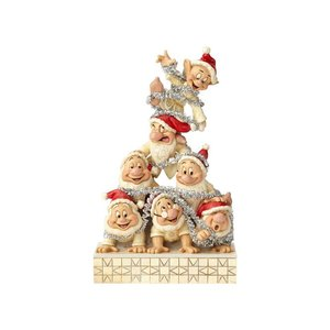 Disney Traditions Seven Dwarfs Stacked