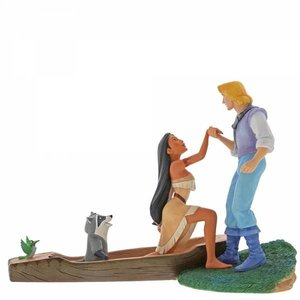 Disney Enchanting Pocahontas Figurine (Hear With Your Heart)