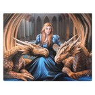 Anne Stokes Fierce Loyal Company 19x25 Canvas