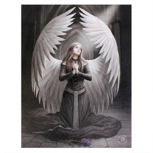 Anne Stokes Prayer for the Fallen  (Anne Stokes) 19x25 Canvas