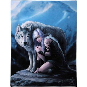 Anne Stokes Protector (Anne Stokes) 19x25 Canvas