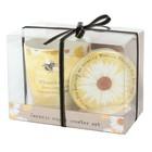 Ceramic Mug & Coaster set 'Bee Mum'