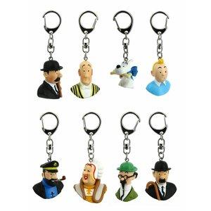 Tintin (Kuifje) Small busts Tintin (SET) Keyring