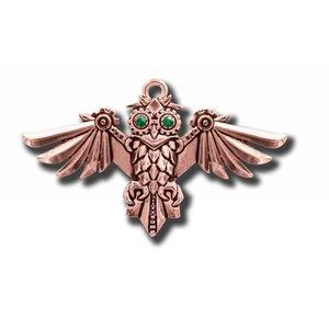 Anne Stokes Aviamore Owl Pendant (Hanger)