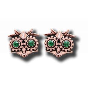 Anne Stokes Aviamore Owl Earrings