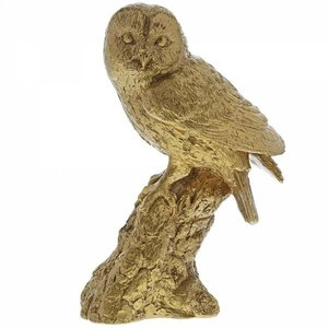 Border Fine Arts Tawny Owl (Gold)