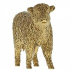 Border Fine Arts Highland Calf (Gold)