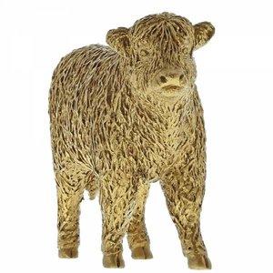 Border Fine Arts Highland Calf (Gold)