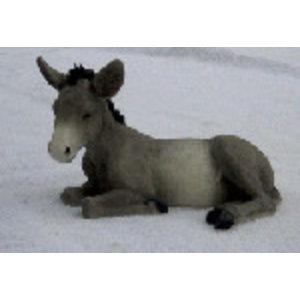 Castagna Donkey Lying Grey