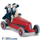 Tintin (Kuifje) De rode racewagen