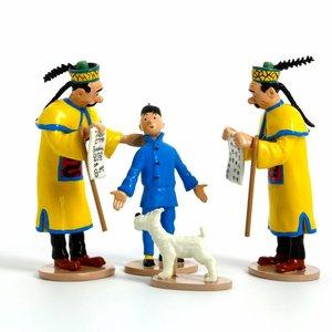Tintin (Kuifje) Tintin and Thom(p)sons figurine