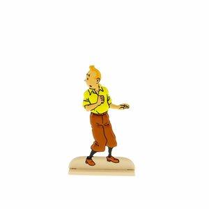 Tintin (Kuifje)  Kuifje kijkt rond (Relief)