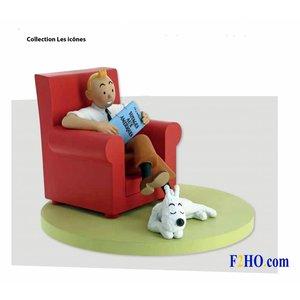 Tintin (Kuifje) Tintin at Home - Tintin Fauteuil (2018)