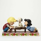 Peanuts (Jim Shore) Schroeder with Lucy and Snoopy