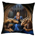 Anne Stokes Fierce-Loyalty-Cushion (40 cm)