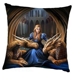 Anne Stokes Fierce-Loyalty-Cushion (Kussen 40 cm)