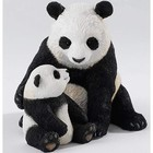 Country Artists Panda and Cub Tender Moment