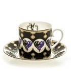 Disney English ladies Co. Maleficent  Cup & Saucer