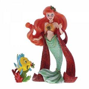 Disney Showcase Ariel & Flounder  Figurine