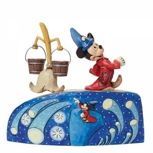 4e0517382 Disney Traditions Sorcerer Mickey 75th Anniversary - Friends 2 Hold ...