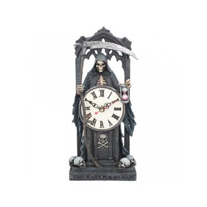 Anne Stokes Time Waits for No Man Clock