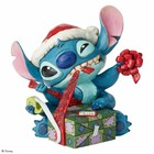 Disney Traditions Stitch  Wrapping (Santa)
