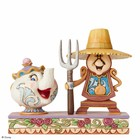 Disney Traditions Mrs. Pot & Cogsworth