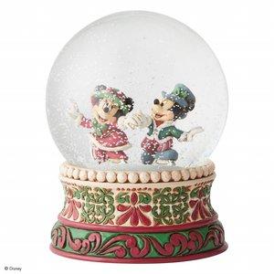 Disney Traditions Mickey & Minnie  Victorian  (Snowglobe)