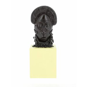 Tintin (Kuifje) African Mask Statue